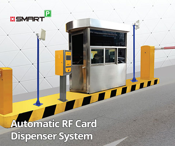 Automatic RF Card Dispenser System